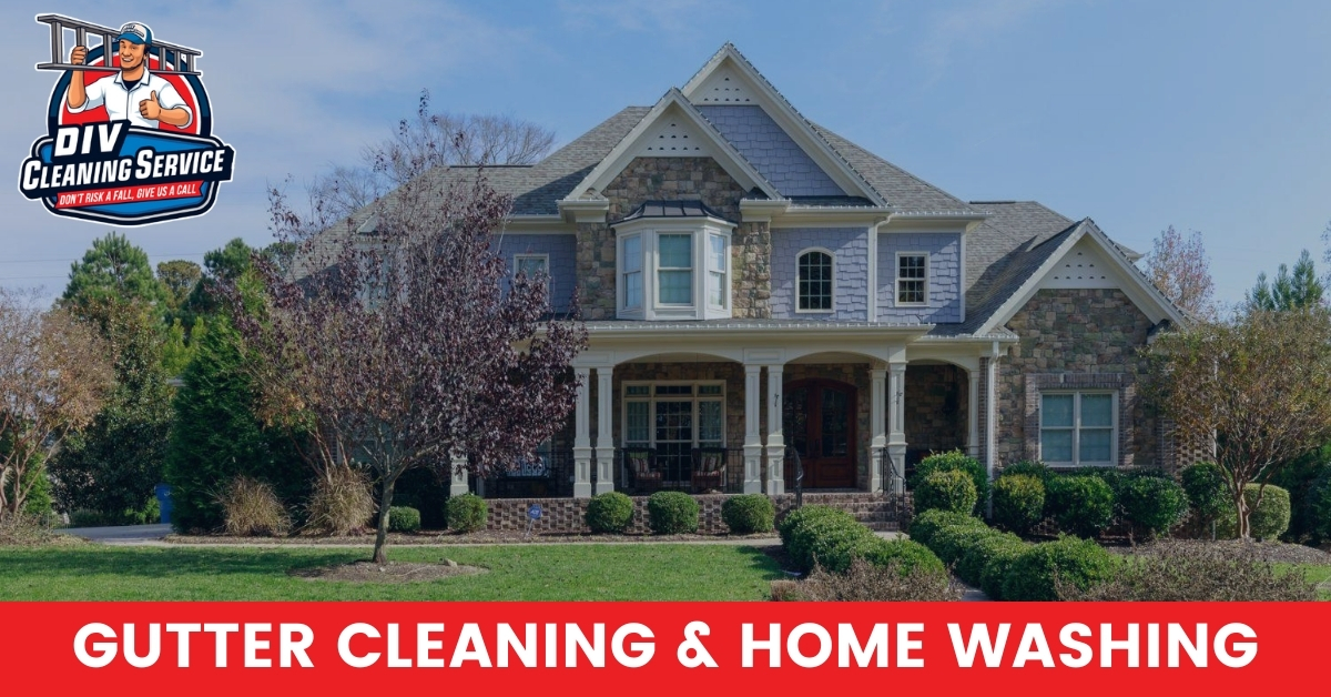 DIV Cleaning Service - Exterior Home Cleaning in Raleigh, NC